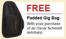 Free Padded Gig Bag