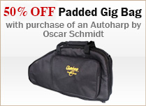 Free Padded Gig Bag Promotion